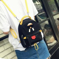 Wholesale Shool Bags - designer backpacks new designer casual women black old man Mini Backpack shool bag