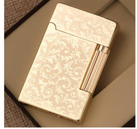 Wholesale Lighter Butane Case - Men's Lighters Superior quality 1Pcs Cigarette Case & Lighter Automatic Ejection Butane Windproof Metal Box HolderStylish Home Use
