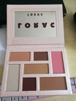 Wholesale Mega Pink - 2017 Lorac pink champagne Holiday Mega PRO Palette Eye Shadow 7Color Makeup pro 3 free shpipping