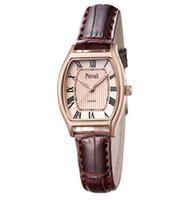 Wholesale reloj water resistant online - Relogio Feminino PREMA Women Watches Montre Femme Marque De Luxe Leather Band Tonneau Shape Quartz Ladies Watch Reloj Mujer