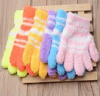 Wholesale Child Cycle Glove - Multi Colors Warm Kids Magic Glove Outdoor School Sports Thicken Gloves Warmer Winter For Boy Girl Children (1 Pair)