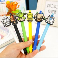 Wholesale Star Wars Stationery Cute Cartoon Neutral Pen Student School Gel Pen Office supplies Star Wars Pens