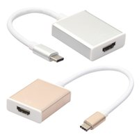 Mini HD High Speed ​​Typ C USB 3.1 Stecker auf HDMI Kabel Adapter 1080P USB-C für Macbook / PC / Laptop / Tablet / Macbook