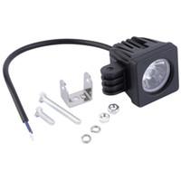 ponto do projetor venda por atacado-Luz resistente do trabalho do projector da lâmpada do ponto do diodo emissor de luz 10W para o caminhão Offroad do carro