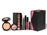 Wholesale Makup Bag - 2017 FOCALLURE Makup Tool Kit 8 PCS Make up Cosmetics Including Eyeshadow Matte Lipstick With Makeup Bag Makeup Set for Gift