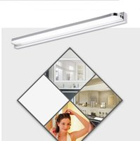 Wholesale Contemporary Style Bathrooms - Modern style wall mounted IP65 waterproof mirror wall light Acrylic LED bathroom mirror wall light lamp
