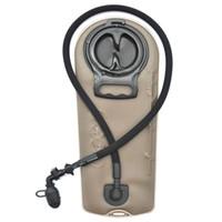 ingrosso bottiglie di acqua della vescica-Professionale sacchetto di acqua portatile contenitori molle bottiglia sacca pallone idratazione vescica Zaino idratazione Sport Escursionismo 2L / 2.5L / 3L