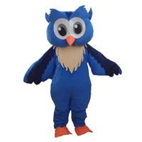 Wholesale Owl Fancy Dress - Owl mascot costume carnival fancy dress costumes school mascot college mascot