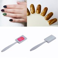 Wholesale Magic Magnetic Nails - Wholesale-High Quality New Magnet Plate Wand Board Nail Art Set for Magic 3D Magnetic Polish NO1