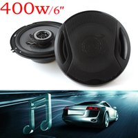 Wholesale Max Audio - Universal 6 inch 400W Max 4ohm Car Coaxial Auto Audio Music Stereo Speakers 2 Way for Vehicle Door SubWoofer AUP_40Y