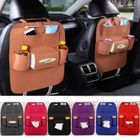 Wholesale Organizing Storage Bag - 7Colors New Storage Bag Auto Car Seat Organizer Holder Multi-Pocket Travel Hanger Backseat Organizing Box PX-A26
