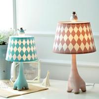 cartoon no no giraffe children table lamp bedroom bedside lamp cartoon creative simple modern warm dimming - Giraffe Lamp