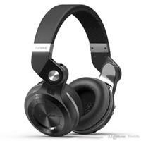 auricular bluedio t2 al por mayor-Bluedio T2 T2 + (Turbine 2 Plus) Auriculares estéreo inalámbricos con Bluetooth 4.1 Auriculares Hi-Fi con micrófono incorporado con paquete