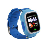 Wholesale Home Security Pets - Q90 Wrist Watch Tracking Smartwatch GPS SIM Card Anti-Personnel Reminder Touch Screen SOS Call Kid Security Anti-Lost Monitor
