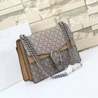 Wholesale Ship Pursed Brand Name - Free shipping GU Brand Ladies Bag Leather Womens Handbag Luxury Brand Name Women Bag High Quality Real Leather Shoulder Bag leather purse