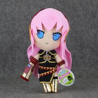 "Wholesale Megurine Luka Hatsune Miku - Free Shipping 11""27cm Vocaloid Hatsune Miku Megurine Luka Plush Toy Soft figures For Girl"
