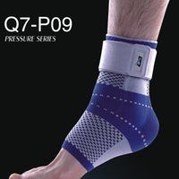 Wholesale Infrared Ankle - Wholesale- Q7 Brand New 1 piece Neoprene Ankle Support Sport Protects Ankle Brace Far Infrared Pressurization Ankle Guard
