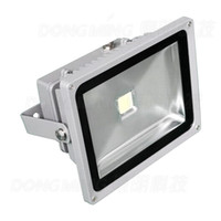 Wholesale High Lumen Rgb Led Lights - Wholesale- 10pcs 5000LM high lumen outdoor LED Flood Light waterproof IP65 50W led spotlight AC85-265V 50,000 working hours 100-120lm w