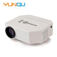 Wholesale Miniature Lcd - Wholesale-2016 Original UNIC UC30 Cheap Mini miniature Projector AV USB & SD VGA HDMI beamer Multimedia Home Theater LCD Digital Projector