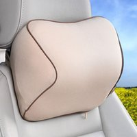 Wholesale Car Head Rest Covers - car head rest pillow Hole-digging Headrest Pillow Car Headrest Supplies driving rest car accessory Cars Seat Covers Pillow Headrest