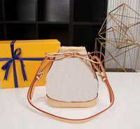 Wholesale cutout leather - Fashion Genuine Leather Noe Bucket Bags Women Small Mini Cutout Women Messenger Bags M40817 Noe Handbags CX#70 Wallets 24CM