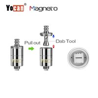 Wholesale ceramic tools - Authentic Yocan Magneto Coils Ceramic Coils Wax Coils With Modern Magnetic Connetion Dab Tool Coil Cap Included