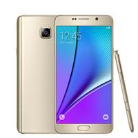 примечание samsung оптовых-Samsung Galaxy Note 5 N920A T P Sprint Версия Оригинал Разблокирована 4G LTE GSM Android сотовый телефон Octa Core 5,7