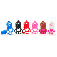 Wholesale Low Price Cat Toys - Cute Cat Paw USB Flash Drive Low Price Promotion Cheap Pendrives 1GB 2GB 4GB 8GB 16GB 32GB Memory Stick For Gift And Toy