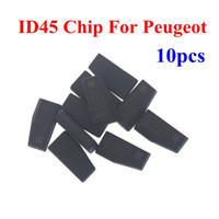 chip transponder peugeot id46 al por mayor-Comercio al por mayor peugeot ID46 Transponder Chip para Peugeot 10 unids / lote ID46 Chips piezas del coche de alta calidad del envío gratis