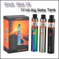 Smok Stick V8 Kit 3000mAh Stick Mod batería 5ml top Relleno TFV8 Big Baby Tank VAPE Pen Cloud Mod. Bestia Clone e cigs