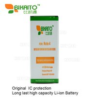 Wholesale Note High Capacity Battery - For Original SAM Galaxy Note4 Battery 3220 mAh High Capacity Note 4 N9100 N910F N910H N910S N910U N910L EB-BN916BBC
