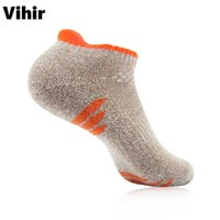 Wholesale Vihir Athletic Low Cut Ankle Socks for Men Bright Colors Summer Mens Cycling Sports Socks