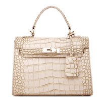 Wholesale Tote Purse Handles - Misslea Women Alligator PU Top Handle Satchel Handbags Crocodile PU Tote Purse shoulder bags for women brithday gift cross-body bags