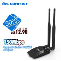 Wholesale Wifi Router High Power - Wholesale- 150Mbps high power USB adaptador wifi with Ralink RT3072 chipset 12dBi wifi antenna COMFAST wireless network adapter wifi router