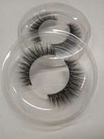 Wholesale Korean Hand - 100% handmade real korean silk fiber false eyelash 3D strip fake lashes Cute eyelashes for Makeup beauty