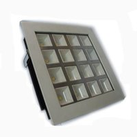 Wholesale Pc Controlled Switch - Wholesale 4W 9W 16W 25W Cree Led Down Lights Recessed downlights Ceiling light square Grille lamp Lighting AC 85-265V CE SAA UL