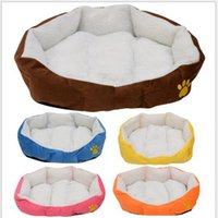 Wholesale Pet Nest Dog House Kennel8 - Wholesale - Lowell 6 dof berber fleece soft kennel8 cat litter dog mat cat mat pet nest pet bed