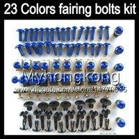Wholesale Honda Cbr125r Fairings - Fairing bolts full screw kit For HONDA CBR125R 02 03 04 05 06 CBR 125R CBR125 2002 2003 2004 05 2006 Body Nuts screws nut bolt kit 13Colors