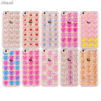 Wholesale Soft Cell Phone Cover - Bling glitter phone cases for iphone 8 8G i8 TPU soft phone cover For Samsung galaxy Note 8 Cell phones Shell Free Shipping