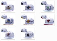 Wholesale Wholesale Leather Footballs - New Caps Basketball Snapback Leather Hats White Color Cap Football Baseball Team Hats Mix Match Order All Caps Top Quality Hat Wholesale