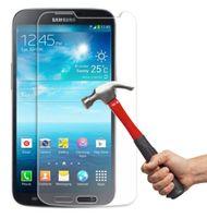 vidrio temperado samsung duos al por mayor-Protector de cristal moderado superior de la pantalla de 50pcs 9H para la galaxia S2 / S3 / S4 / S5 / S6 / S7 / S4mini / S5mini / S7562 / i9082 Duos Explosio de Samsung