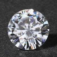Wholesale Queen Brilliance Carat ct MM No Less Than G H VVS2 High Quality Loose Moissanite Diamond ccp