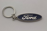 Wholesale Ford Focus Key Chains - 3D Car logo key Fob Keychain Keyring Key Chain Key Ring KeyHolder For Ford Focus