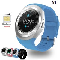 Luxe Y1 A1 GT08 DZ09 SmartWatches Support rond Nano SIM TF Card Avec Whatsapp et Facebook Hommes Femmes Business Smart watch pour Android IOS