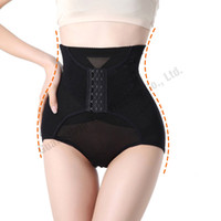 Wholesale Magic Panties - Wholesale- With The Buck Women Sexy High Waist Hip Up Corset Panties Breathable Slimming Shapewear Body Magic Underwear Shaper L-XXL 830