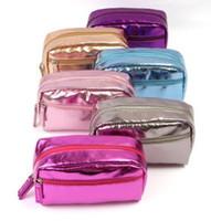 Wholesale Cosmetics Bags Wholesale - Hot Sale Colors Many Designs Cheap wholesale Women's Travel Makeup quartet cosmetic Bag