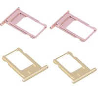 Wholesale Iphone5 Replacement - SIM Card Tray Holder Slot New Disign Fit For Iphone5 6 7 Plus Nano High Quality Colorful Replacement Repair Parts