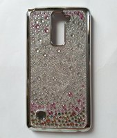 Pour iPhone 8 X 7 Plus 6S 5 Hot Sale Protective TPU Shinny Case Luxe Glitter Coloré Rhinestone Diamond Back Cover Prix de gros