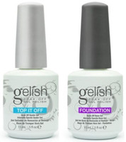 gelstyle gelish nail polish - Top Quality Soak Off Nail Gel Polish For Nail Art Gel Lacquer Led uv Harmony Gelish Base Coat Foundation Top coat