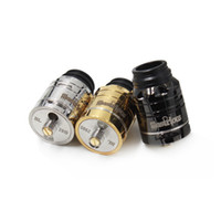 2017 Novo MC Ilustre D24 RDA Clone Rebuildable Dripping Atomizers 3 cores 24mm PEEK Insulators Fit 510 E Cigarette